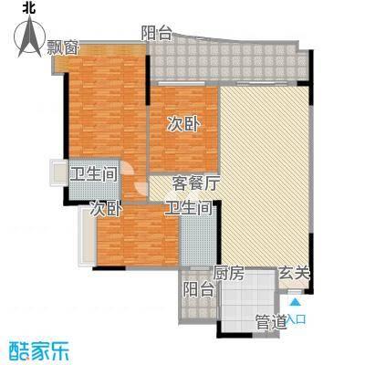 美图别苑248.00㎡户型3室