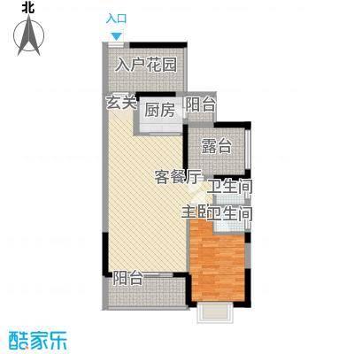 和瑞深圳青年85.55㎡1、2栋03户型3室2厅2卫1厨