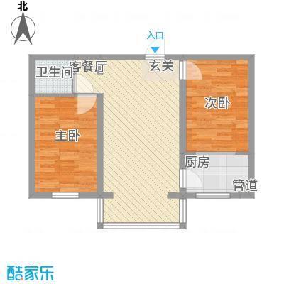 粮食局家属楼02户型