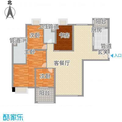 昌盛双喜城24.00㎡F3户型4室2厅2卫1厨