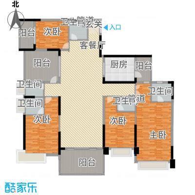 锦绣山河三期2栋标准层1单元02户型