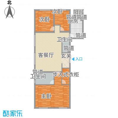 沈阳万达公馆B3-A户型