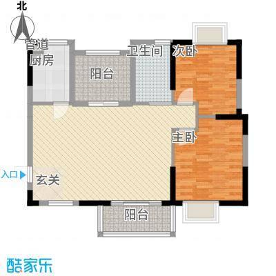 顺民宜盛花园11.00㎡8、13号楼B1户型3室2厅2卫1厨
