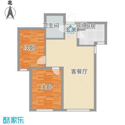 海昌天澜二期高层标准层F户型