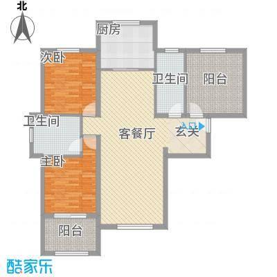 龙TOWN132.50㎡14、15、16、18号楼户型