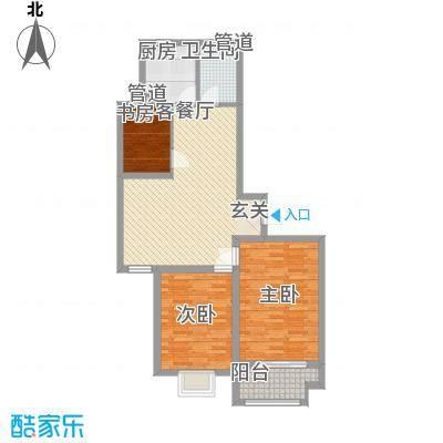 港湾明珠二期20#楼C2户型