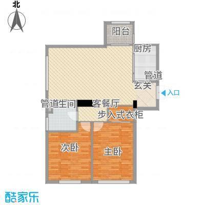 汇锦庄园高层G1-3-01户型