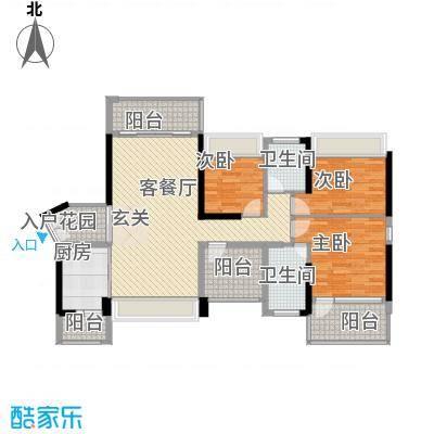 深圳东星河丹堤三期3、5、6、7栋02户型