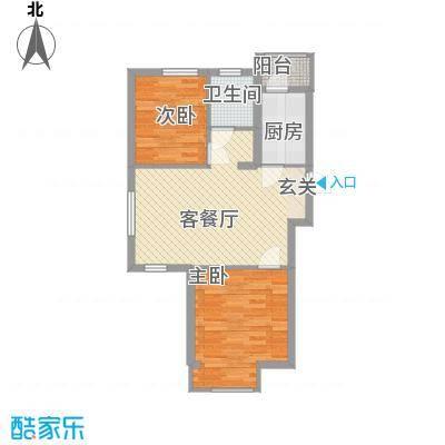 坤博幸福城A户型
