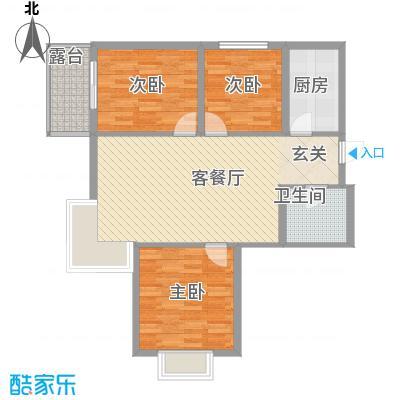 鑫缘佳地114.10㎡A1户型