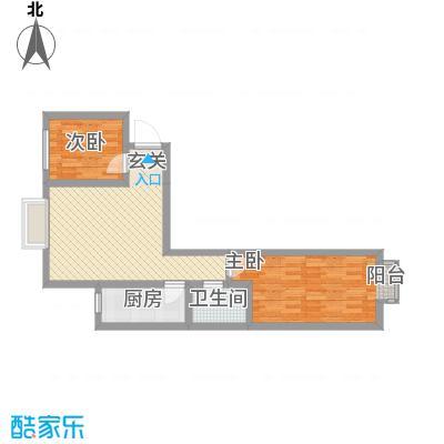 鑫缘佳地86.70㎡C1户型