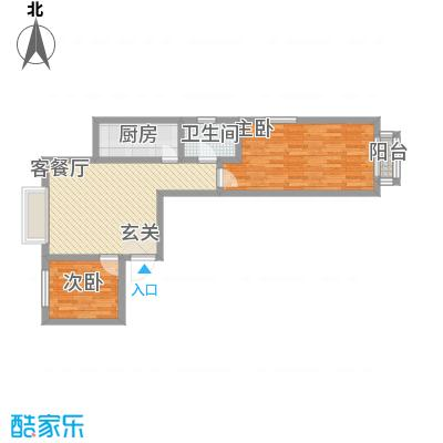 鑫缘佳地86.50㎡C5户型