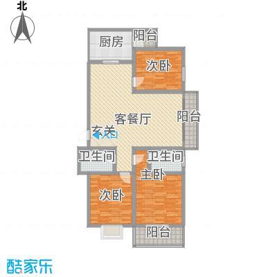 鑫缘佳地146.85㎡B3户型