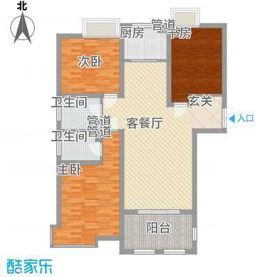 金湖国际1#楼A2户型