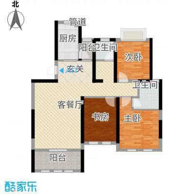 海峡・湖尚城12.00㎡小高层E-3户型