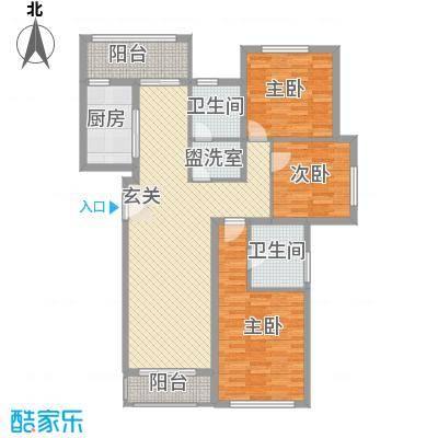矽谷港湾知本家公寓标准层A2户型