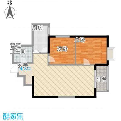 宏府�翔九天4/5/11/12号楼B6户型
