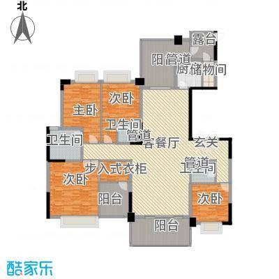 锦绣山河三期3栋标准层1单元02、2单元01户型