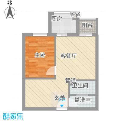 阳光银座6.00㎡户型1室