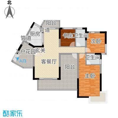 峰景嘉苑B2户型
