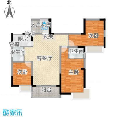 峰景嘉苑C3户型