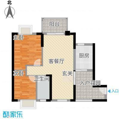 富丽嘉园6栋1单元3户型