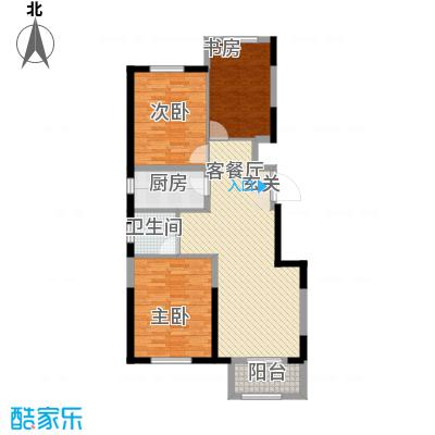 晋中万科・朗润园17.00㎡逸兴苑户型