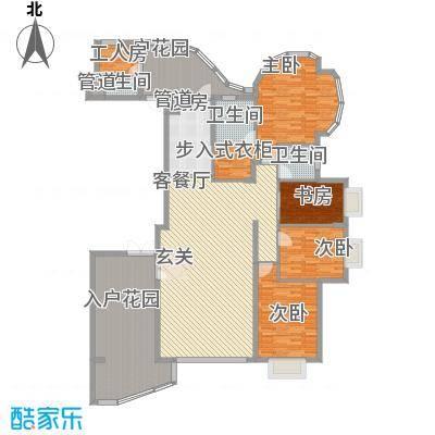 海豚湾211.00㎡C户型5室2厅3卫1厨