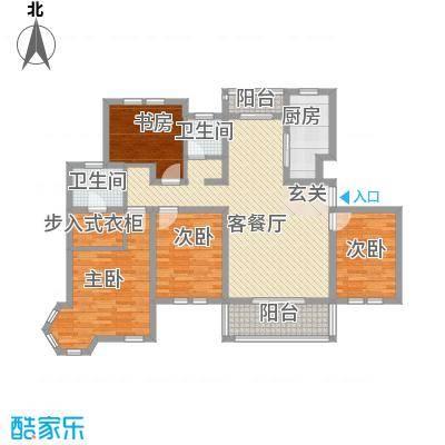 世茂东都147.21㎡C多层住宅户型4室2厅2卫