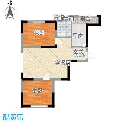远创金泽锦城高层D户型