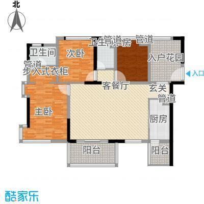 清林闲庭两阳户型3室1厅1卫1厨