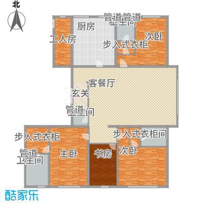 太原万达公馆36.81㎡B2区2#、3#D1户型3室2厅4卫2厨