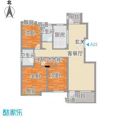 中兴・和园洋房偶数层C2户型