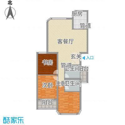 蓝湾国际152.51㎡C1户型3室2厅2卫1厨
