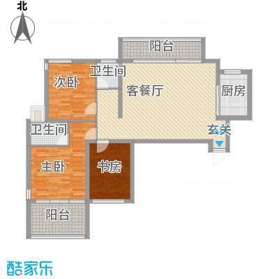 民生桂馨苑1户型
