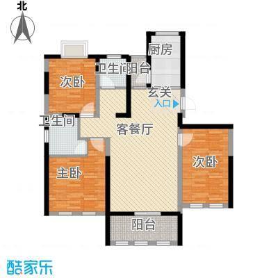 海峡・湖尚城11.00㎡小高层E-1户型