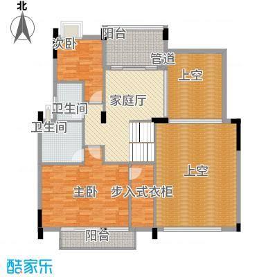 卢浮公馆户型2室