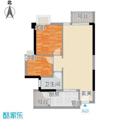 东湖花园七区12.00㎡户型3室