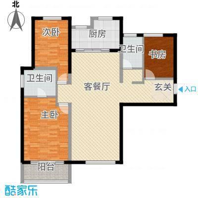 红星海青屿蓝户型3室