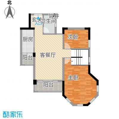 东海湾213.00㎡E3复式户型5室2厅2卫1厨