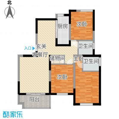凯运天地12.85㎡GC3户型3室2厅2卫
