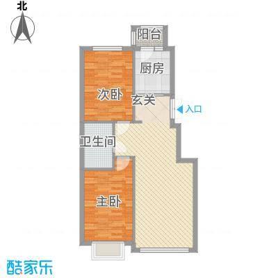 阳光新城三期中央街区b5户型