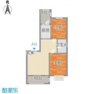 阳光新城三期中央街区h2户型