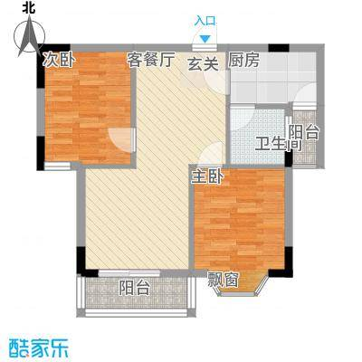 翠月嘉苑20100724084328户型3室