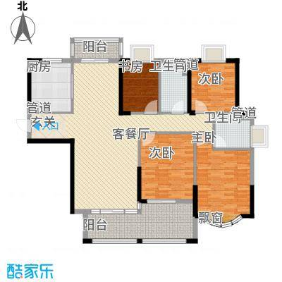 日升昌阳光御园15.00㎡三期E座03号户型4室2厅2卫