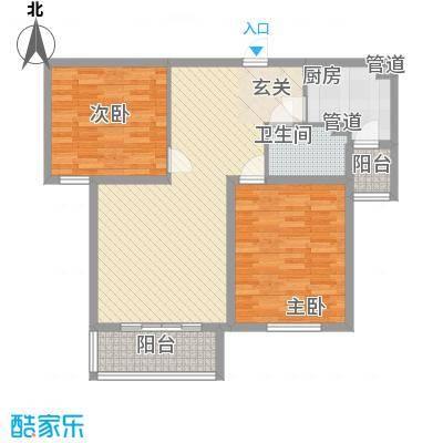 财富湾4#5#楼中间户C2户型