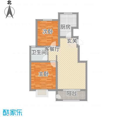华府御墅洋房1、2、28号楼标准层D1-5户型