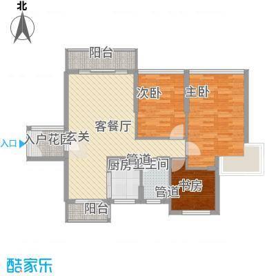 日升昌阳光御园85.22㎡C04户型3室2厅