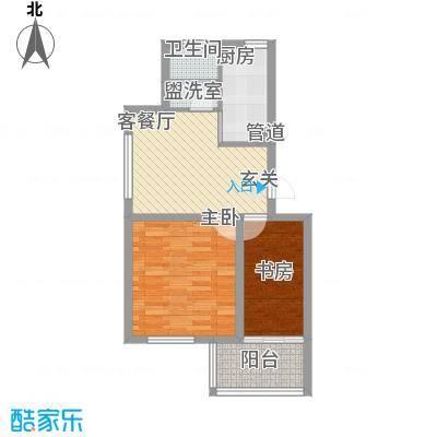 养怡花园6.50㎡d1户型2室1厅1卫1厨