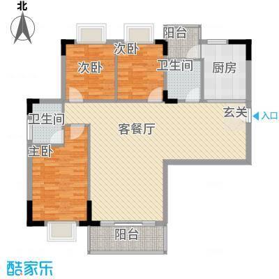 启明苑户型3室
